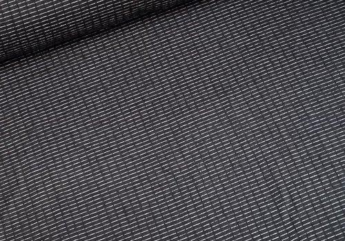 Double Gauze Jersey Black