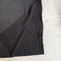 Double Gauze Jersey Black