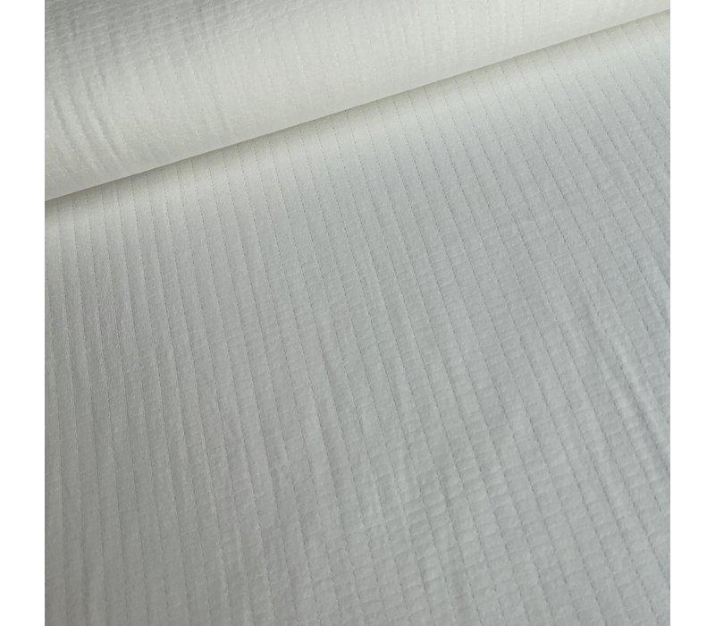 Double Gauze Jersey White