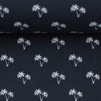 Cotton palmtrees black