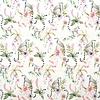Megan Blue Fabrics Tricot White Maki Jungle