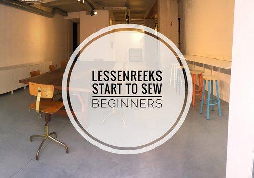 Workshop Start To Sew SEPT