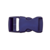 klikgesp blauw 30mm