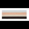 De Stoffenkamer Taille Elastiek 40mm metallic lines