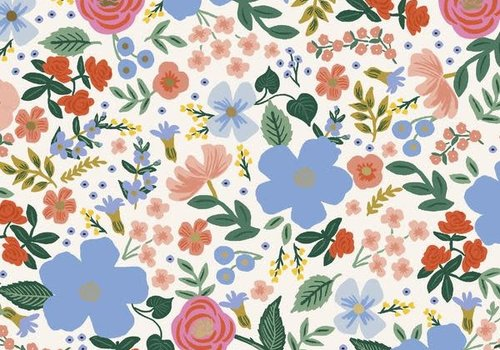 Cotton + Steel Rayon Rifle paper co. - Primavera Flowers