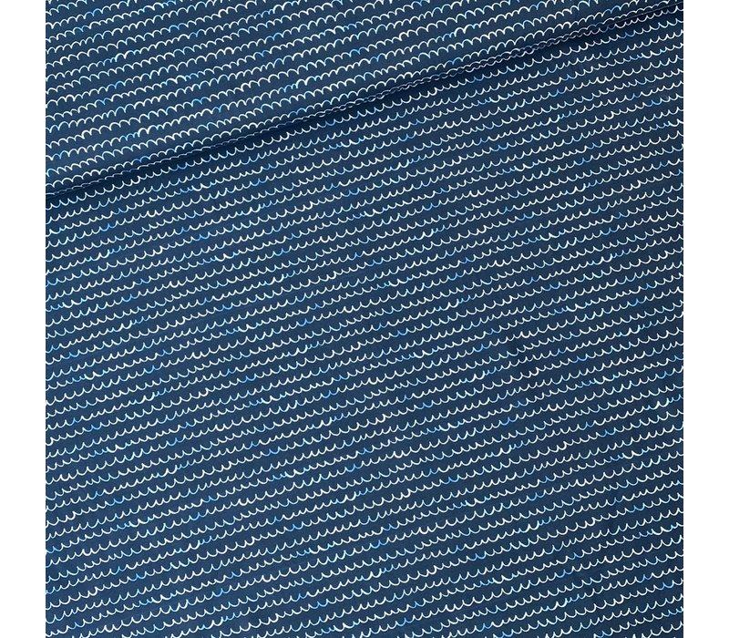 Tricot - waves Dark Blue