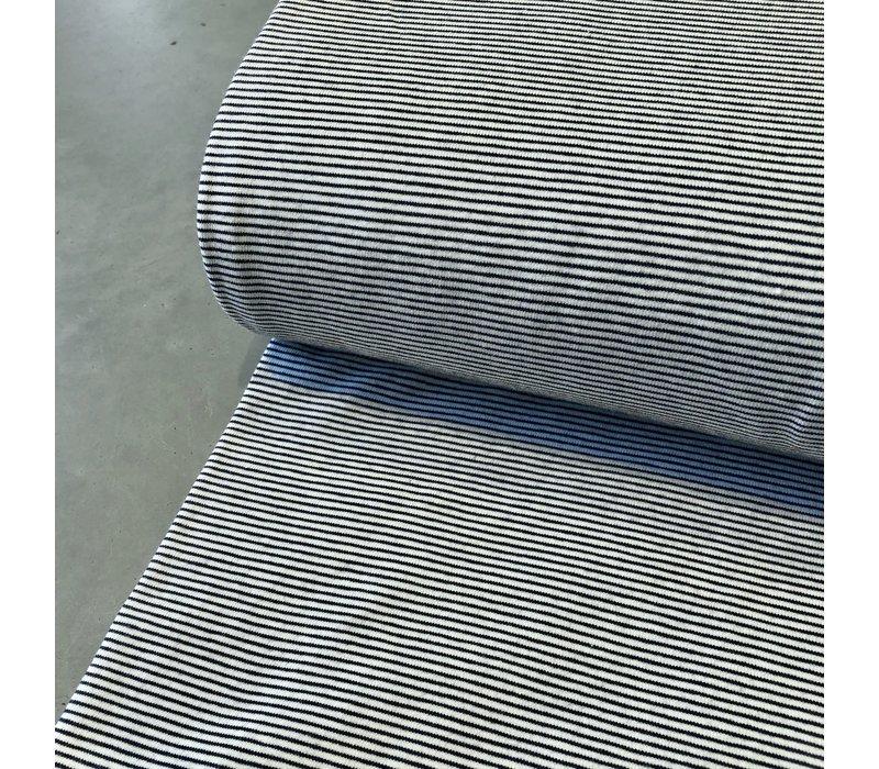 Tricot Mini stripes Navy