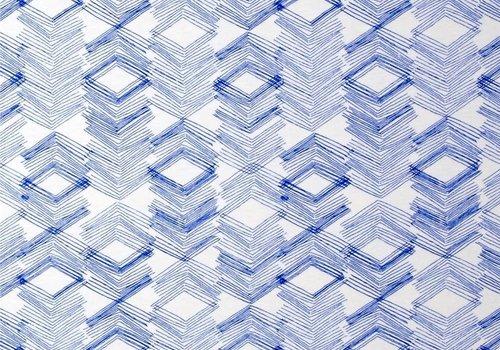 Art Gallery Tricot Bio limestone indigo