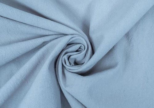 Wrinkle Cotton Light Blue
