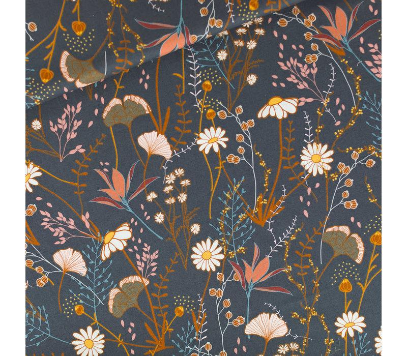 SYAS cotton twill Flower Field