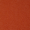 Cosmo Cotton dots rust