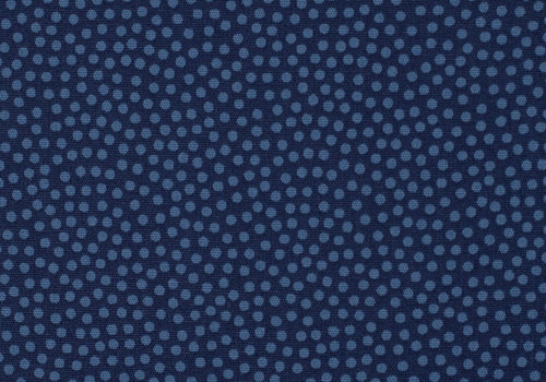 Cosmo Cotton dots blue