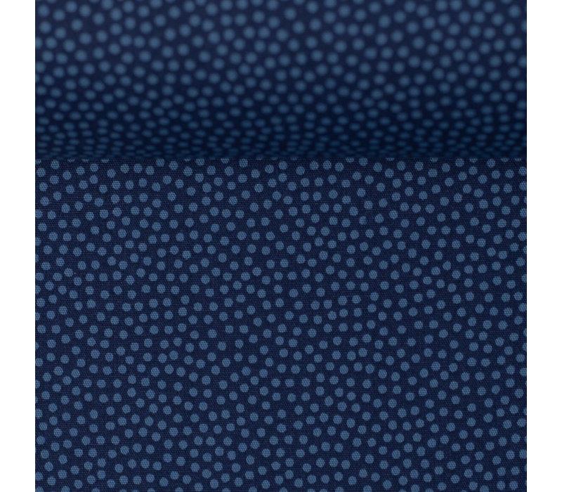 Cotton dots blue