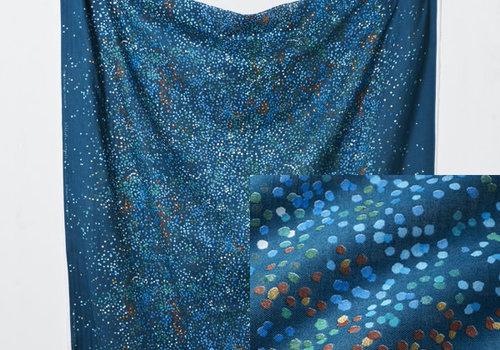 Nani Iro Nani Iro - Melodie Croquis Blue