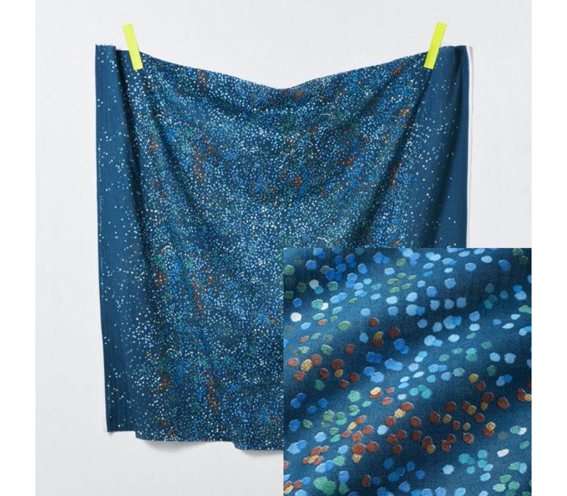Nani Iro - Melodie Croquis Blue