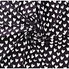 Cotton Black Hearts