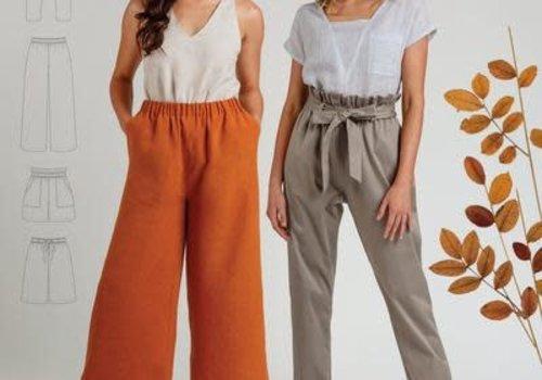 Megan Nielsen Opal Pants & Shorts