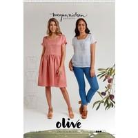 Olive dress & top