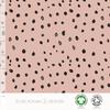 Elvelyckan Bio tricot - Dots Pink