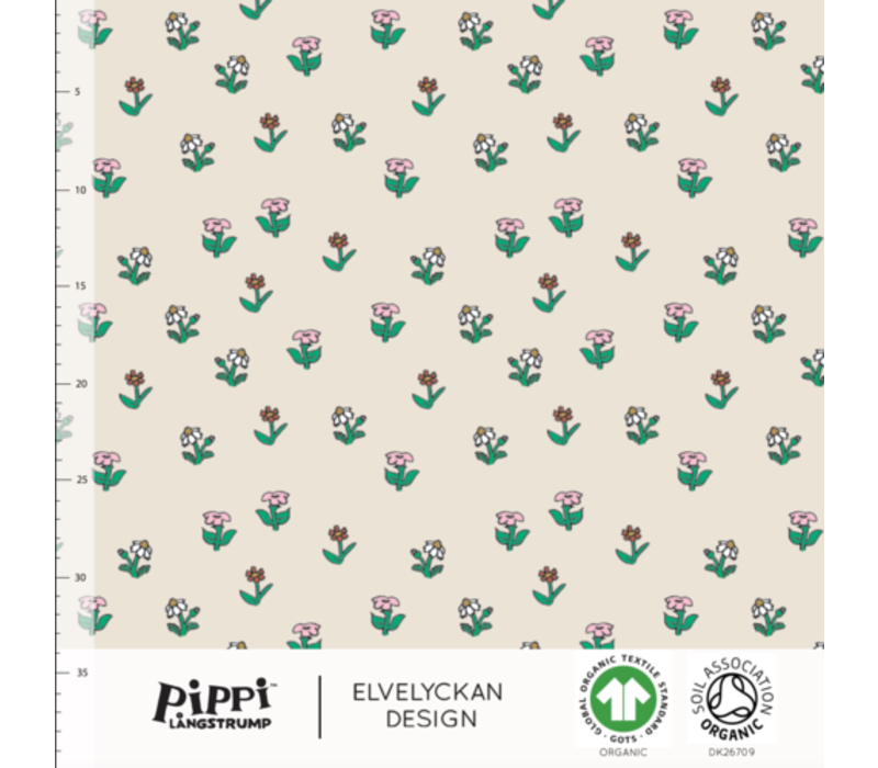Bio tricot - Pipi Langkous Flowers