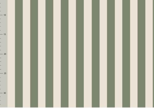Elvelyckan Bio French Terry - Vertical Green