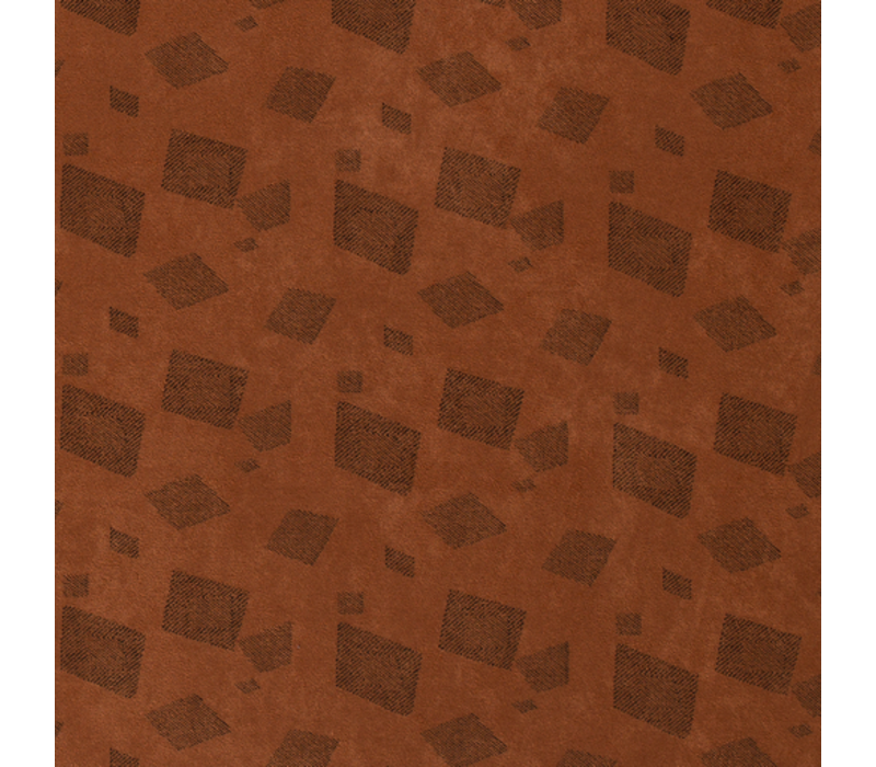 Suede Squares Camelbrown