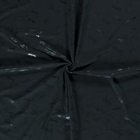 Tricot Foil Print Dark Green Libel