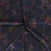 De Stoffenkamer Extra dik tricot - punta Blue Flowers