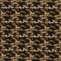 Cotton Camouflage Brown