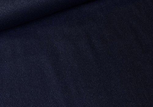 De Stoffenkamer Wol Mix Navy Blue