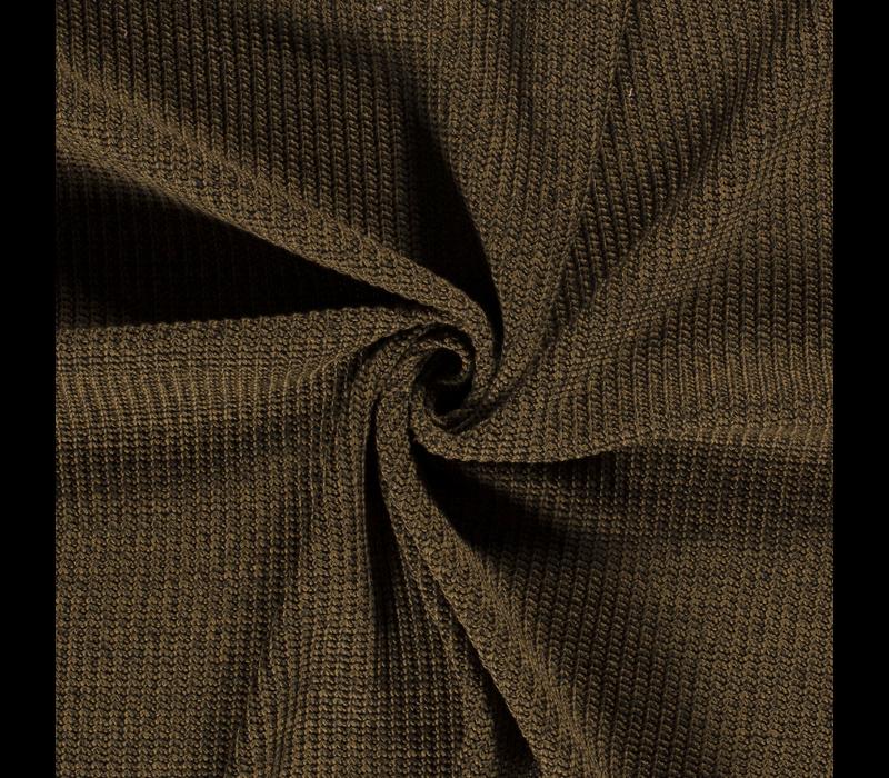 Sweater Cable Knit Khaki