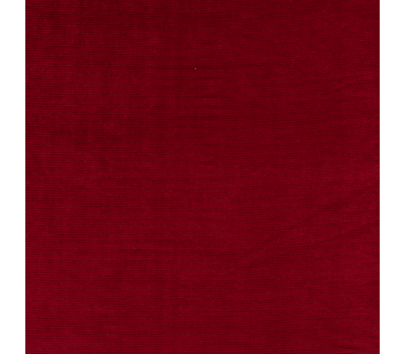 Stretch rib Met Brede Ribbel Dark Red