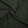 De Stoffenkamer Sweatertricot Herringbone tweed green