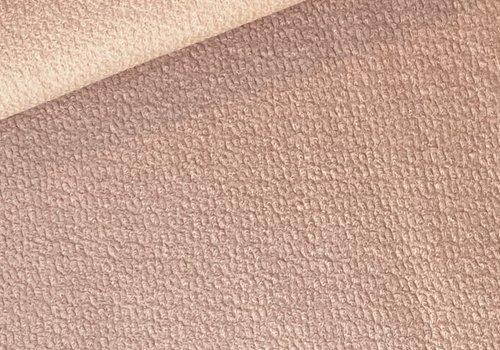 De Stoffenkamer Wol Mix Sheepskin Soft Pink