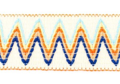 De Stoffenkamer Taille Elastiek 66mm woven zigzag