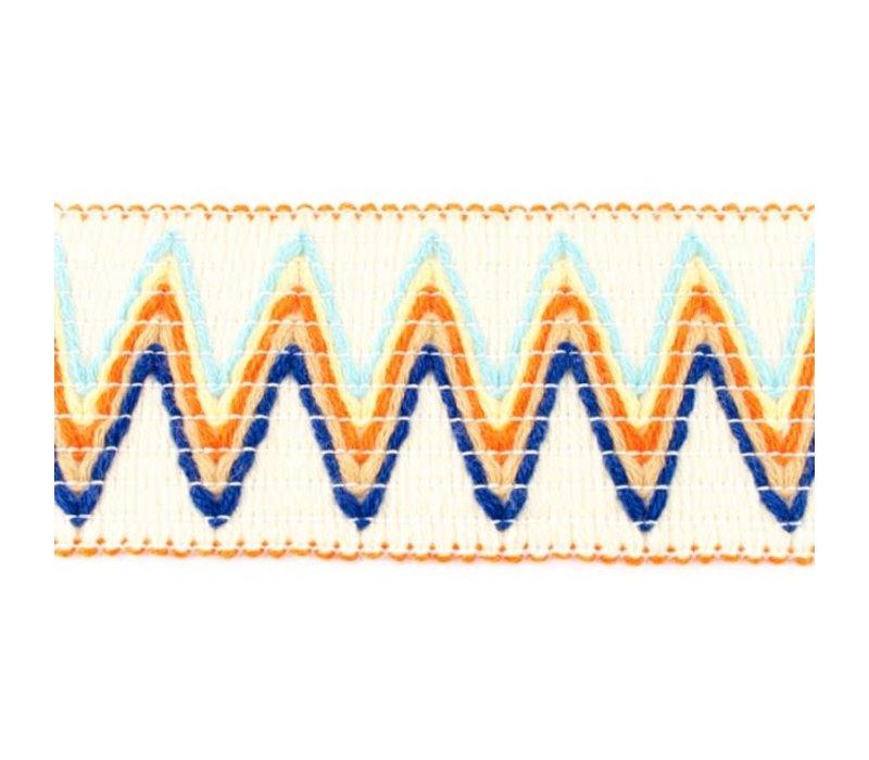 Taille Elastiek 66mm woven zigzag
