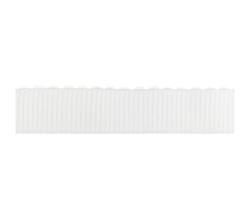 Taille Elastiek 40mm bows ecru