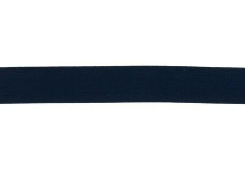 De Stoffenkamer Taille Elastiek 25m Marine