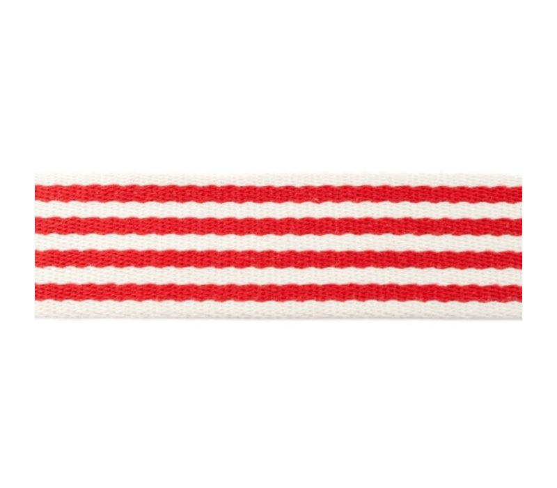 Tassenband Stripes Red