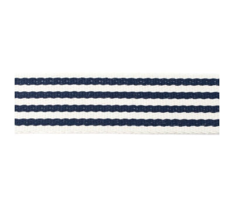 Tassenband Stripes Navy