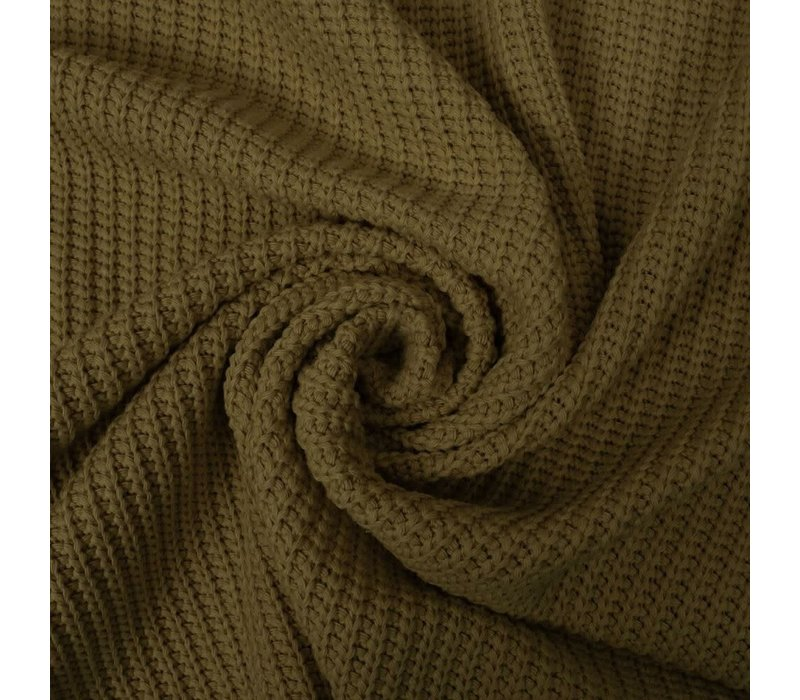 Sweater Cable Knit Moss