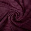 De Stoffenkamer Sweater Cable Knit Burgundy