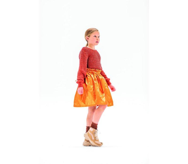 Nylon Shiny Orange - Abby Jas