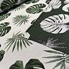 Geweven Canvas Heavy Botanical Leafs