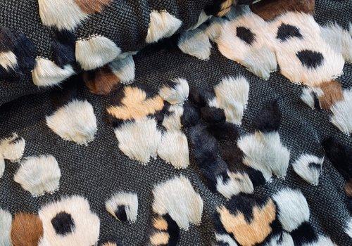 De Stoffenkamer Faux-Fur Leopard Spots