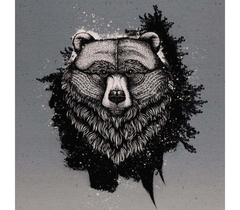 French Terry - Panel Grizzly