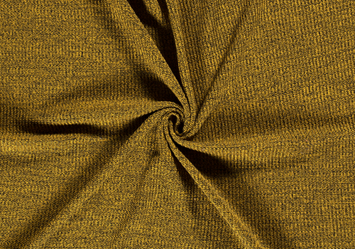 De Stoffenkamer Sweater Cable Knit Yellow Black