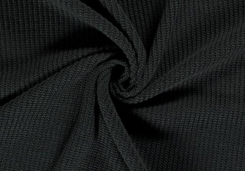 De Stoffenkamer Sweater Cable Knit Dark Bottle Green