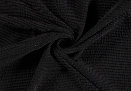 De Stoffenkamer Ribfluweel Met Brede Ribbel WASHED black