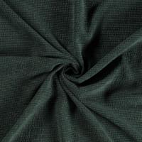 Ribfluweel Met Brede Ribbel WASHED dark green
